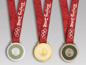 Beijing 2008 Olympic Medals